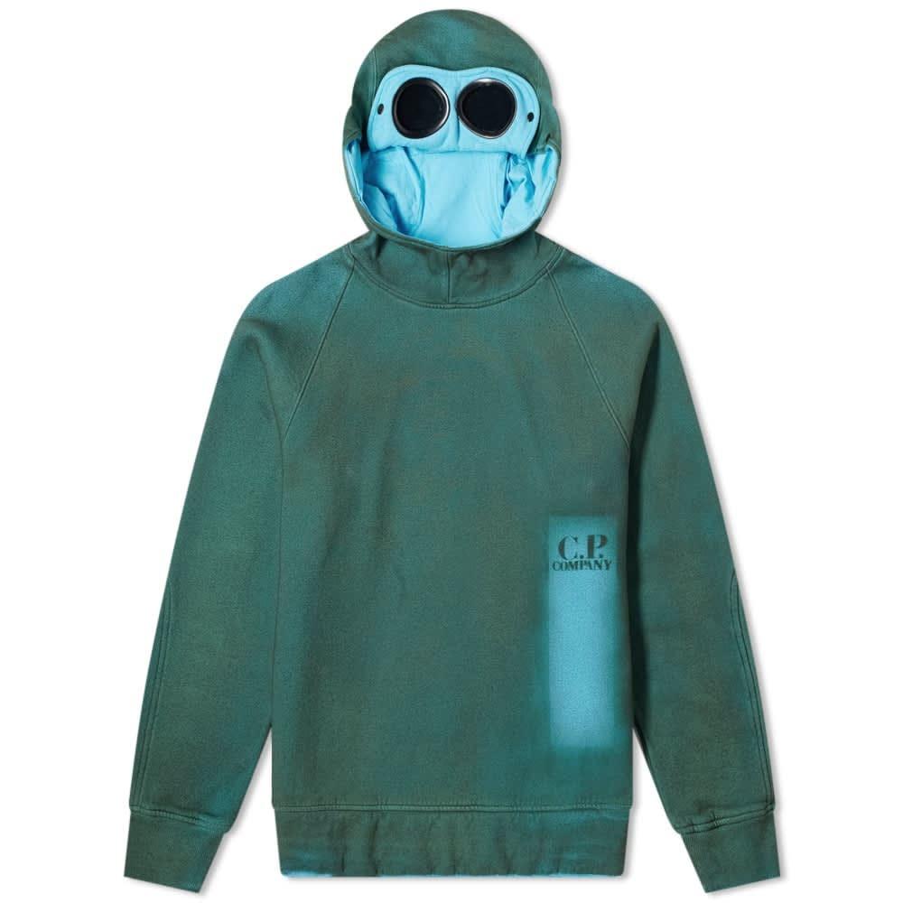 C.P. Company P.Ri.S.M Garment Dyed Goggle Hoody