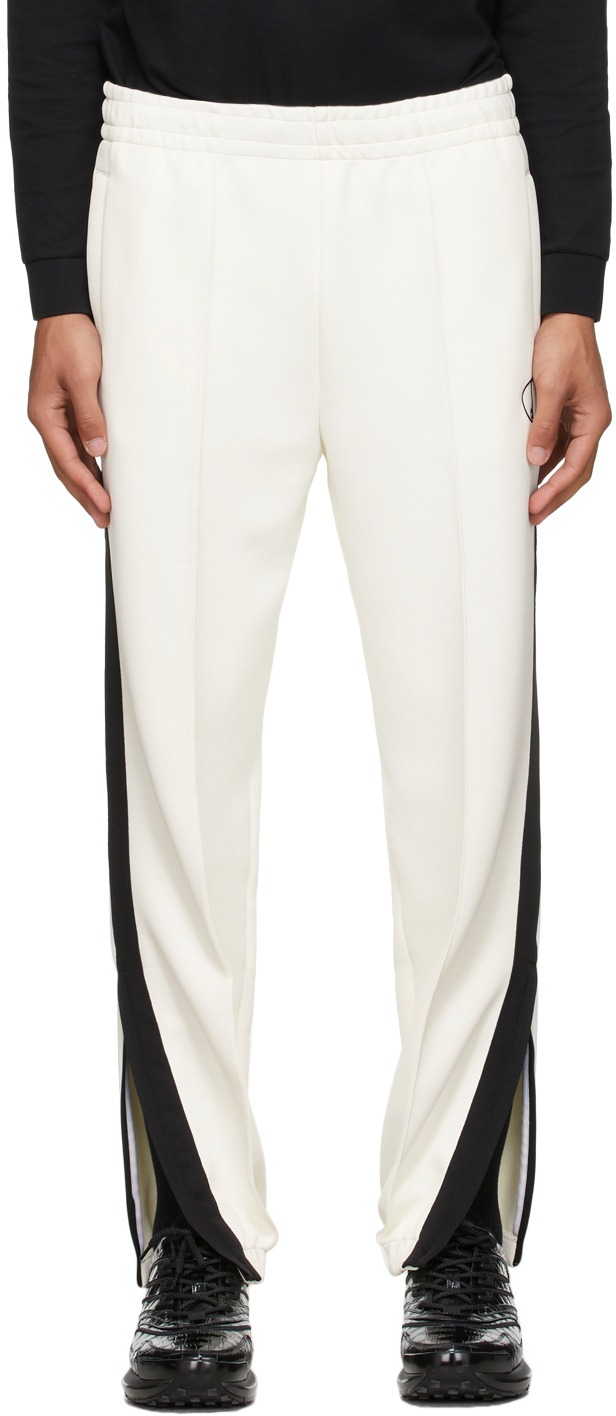 Photo: Dunhill Off-White Circle D Track Pants