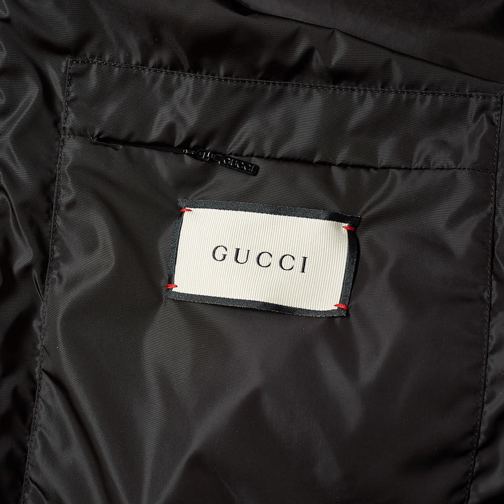 Gucci Vintage Nylon Bomber Jacket