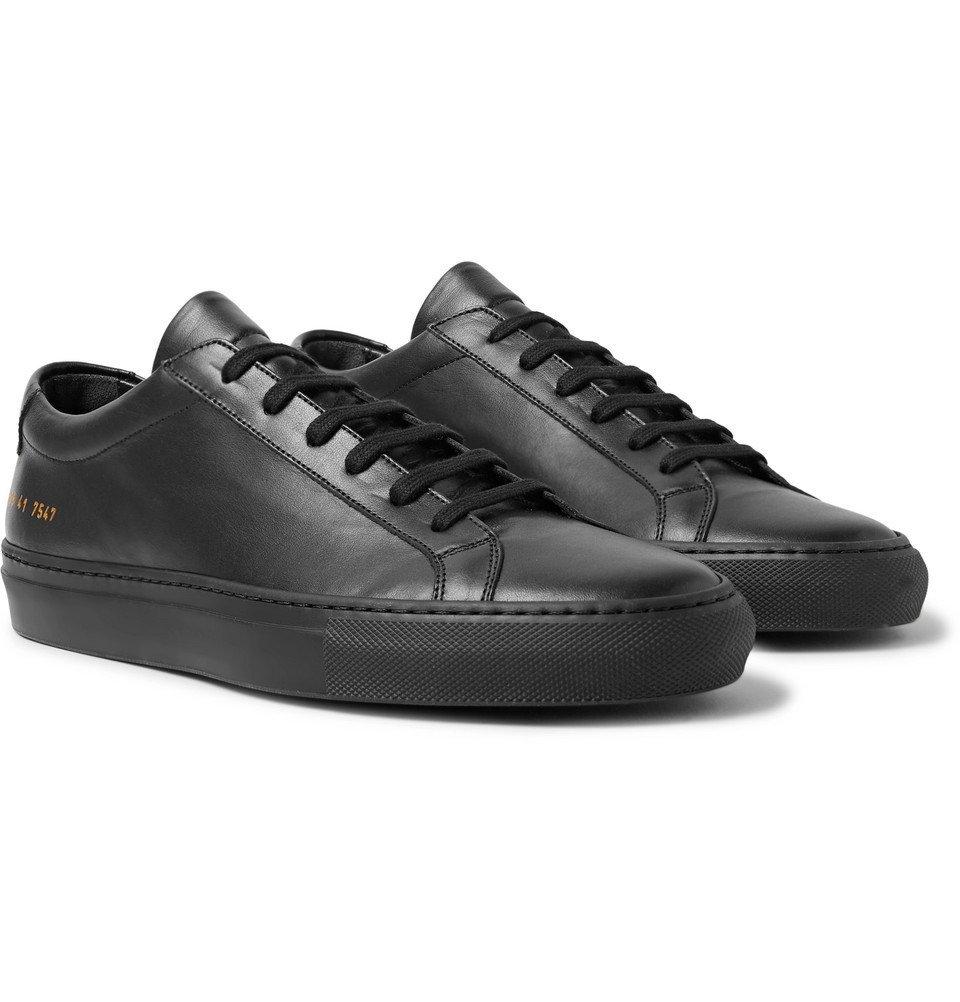Common Projects - Original Achilles Leather Sneakers - Men - Black