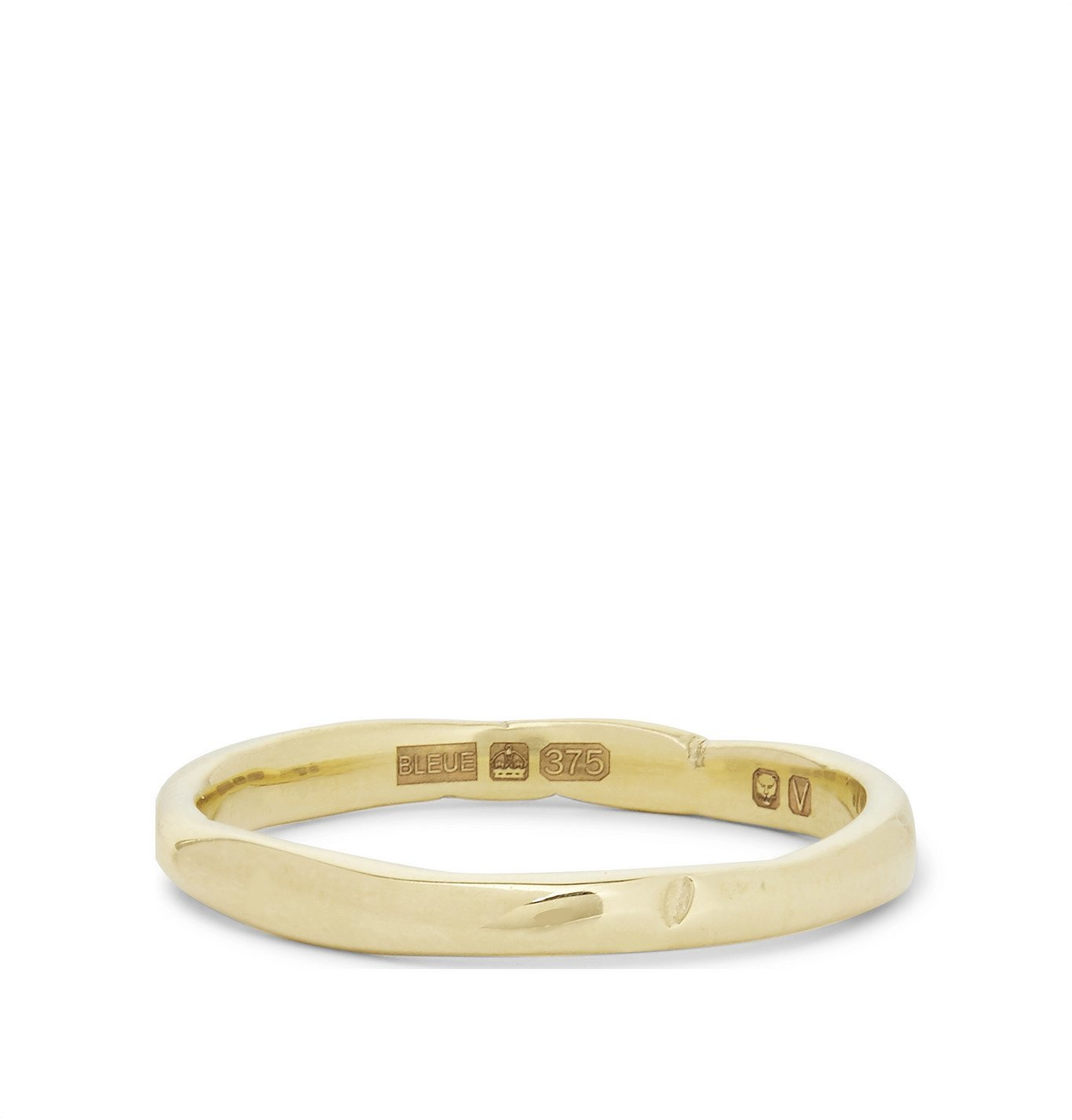 Photo: Bleue Burnham - The Stem 9-Karat Gold Ring - Gold