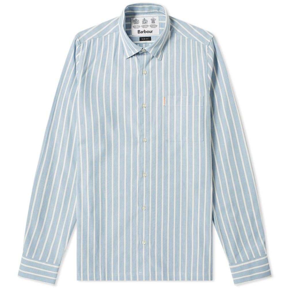 Photo: Barbour Keswick Shirt - Japan Collection Pale Blue