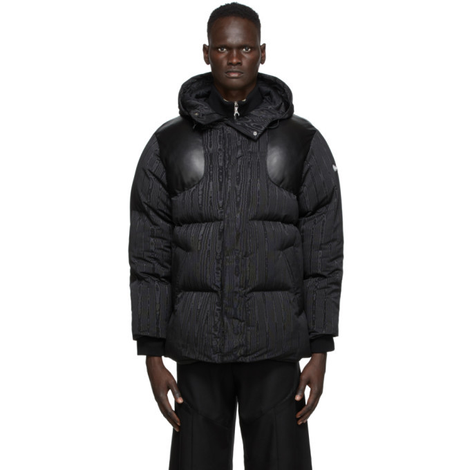 Photo: Marine Serre Black Big Puffer Jacket