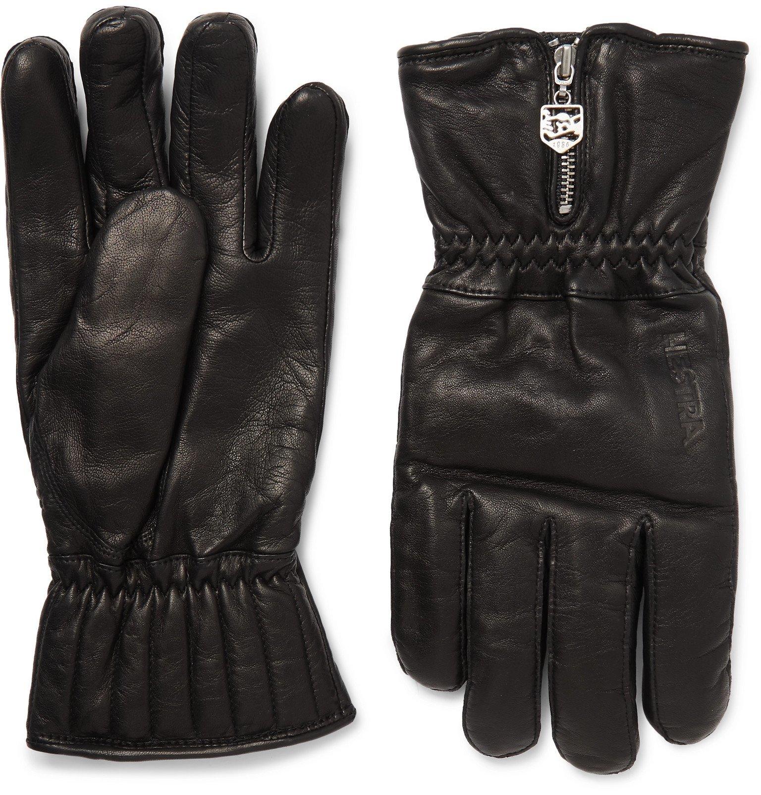 Photo: Hestra - Leather Gloves - Black