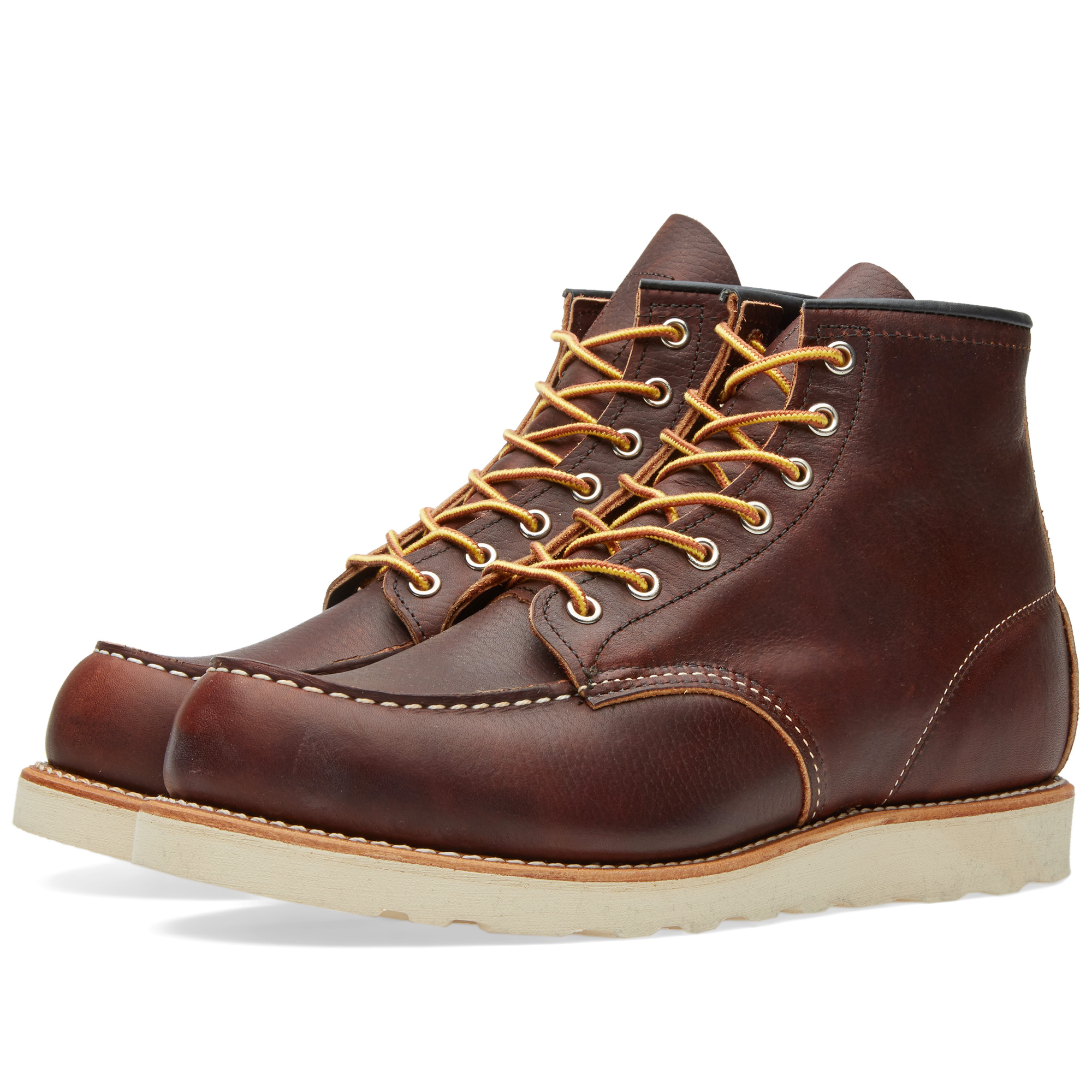 "Photo: Red Wing 8138 Heritage Work 6"" Moc Toe Boot Brown"