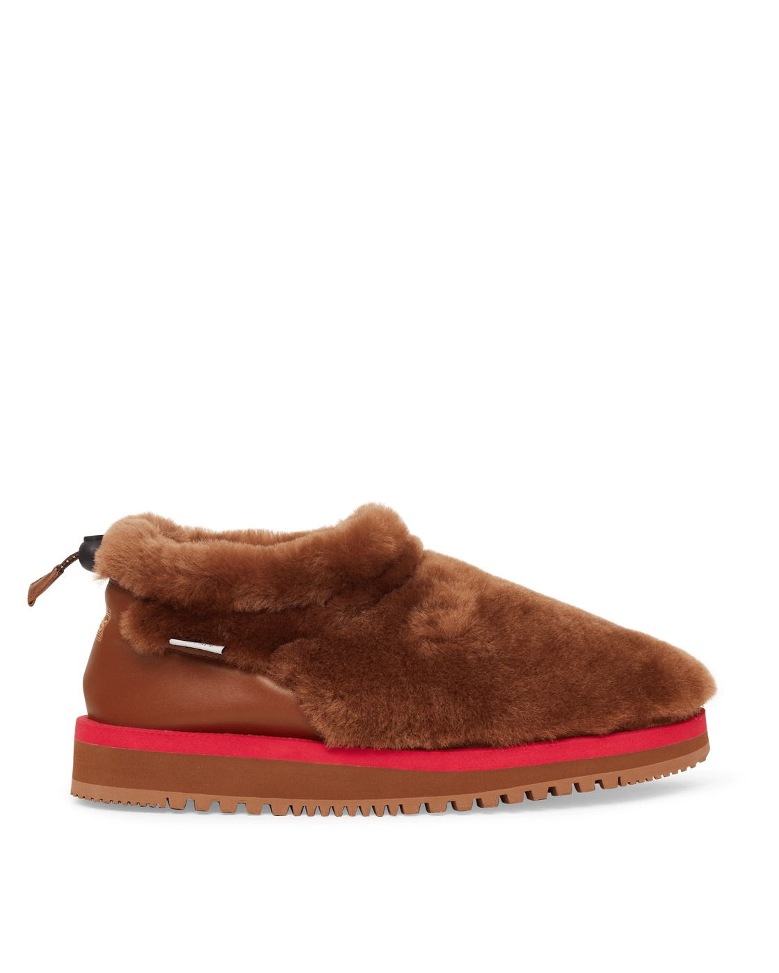 Photo: Suicoke Aries Ron Mid Slip On Boots Brown