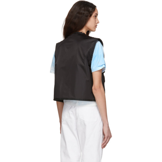 032c Black Cosmic Workshop Pocket Vest