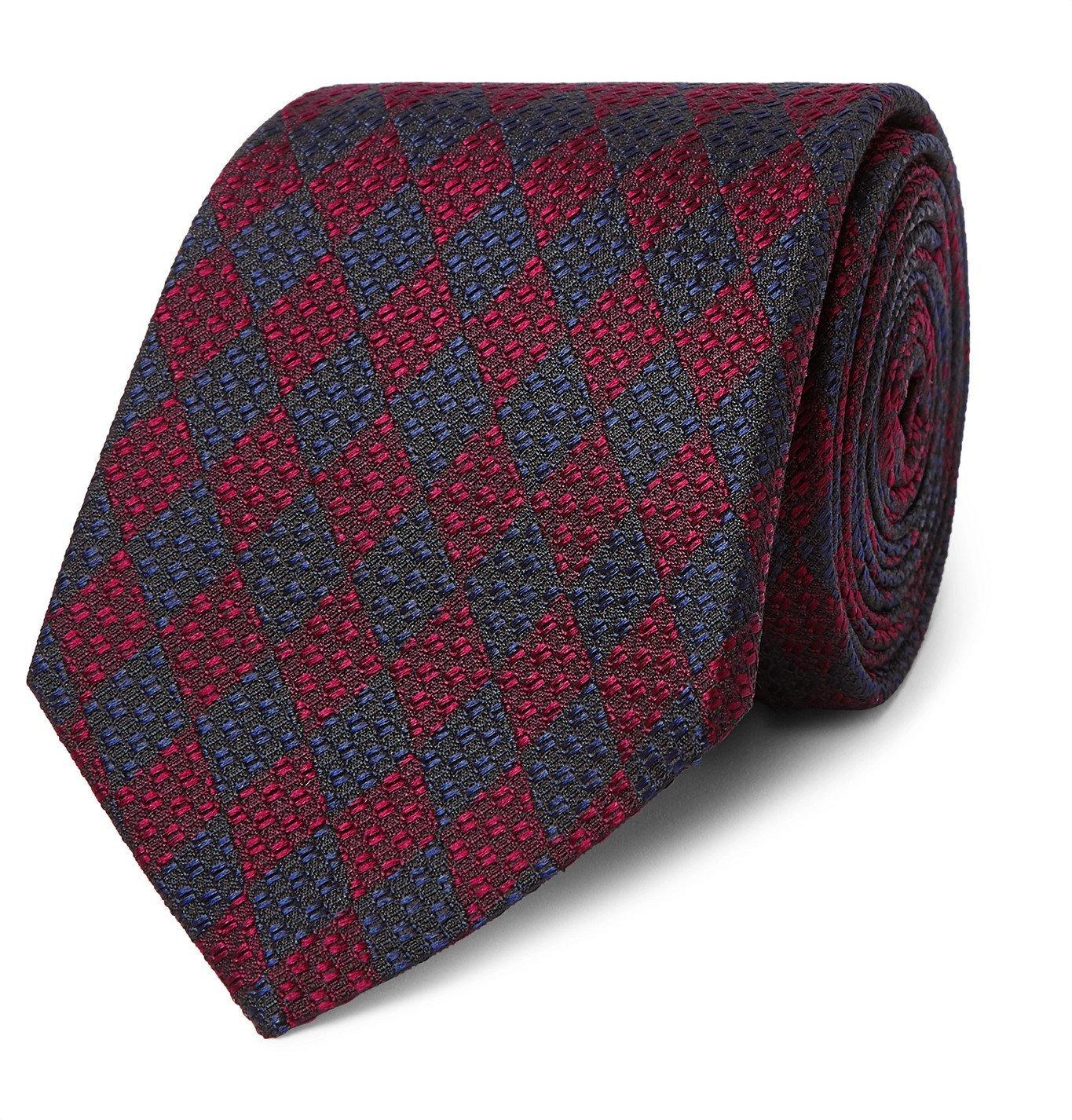 Photo: Gucci - 7cm Silk-Jacquard Tie - Blue