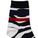Sacai Zebra Socks Off White×Black