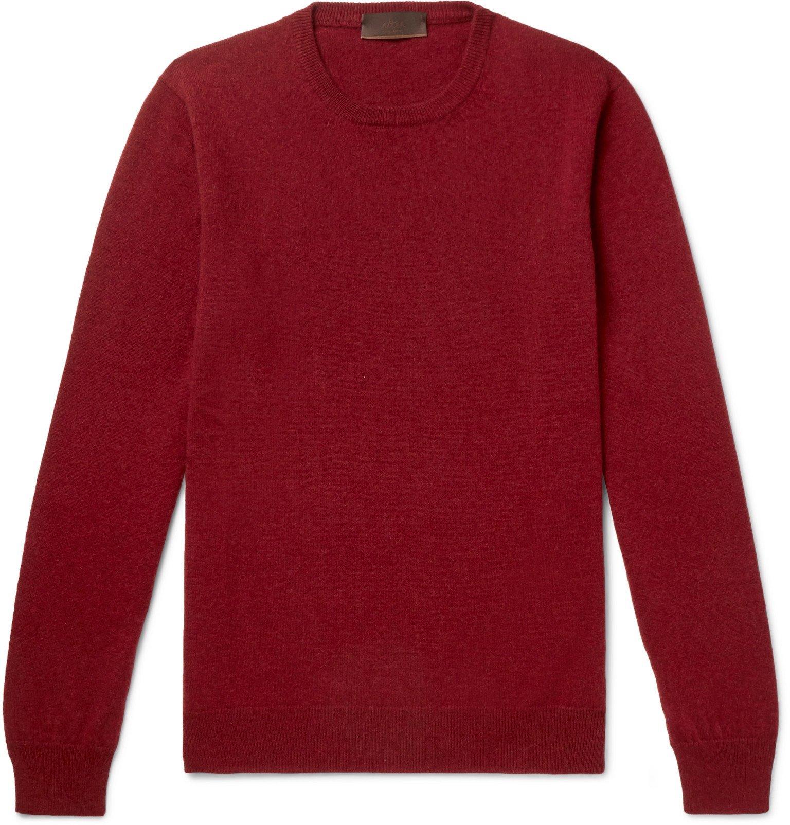 Photo: Altea - Cashmere Sweater - Burgundy