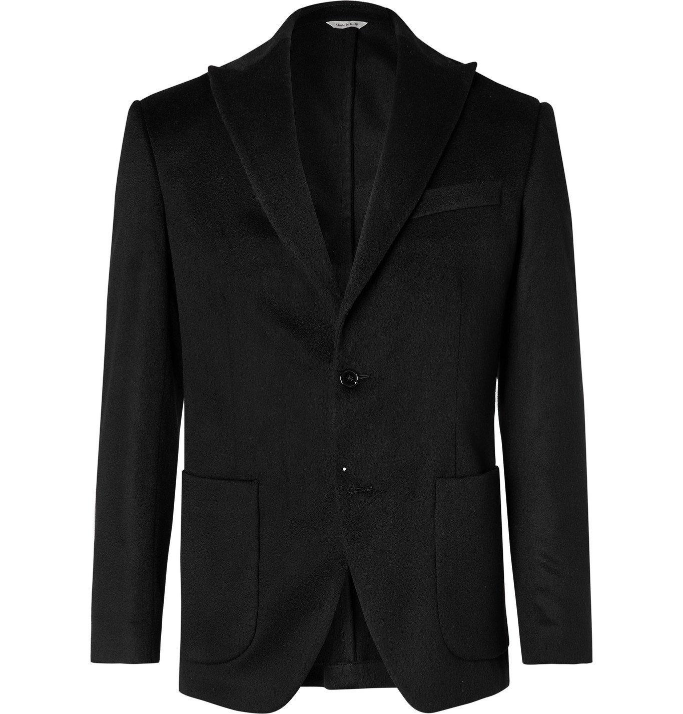 Photo: Altea - Slim-Fit Cashmere Blazer - Black