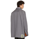 Raf Simons Grey Denim Easy Fit Shirt
