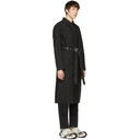 1017 Alyx 9SM Black Mackintosh Edition Formal Coat