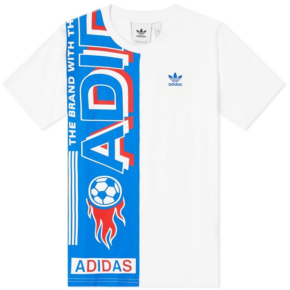 Photo: Adidas Side Scarf Tee