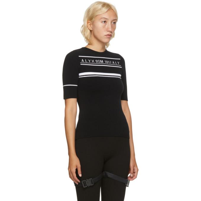 1017 ALYX 9SM Black Logo Knit Sweater