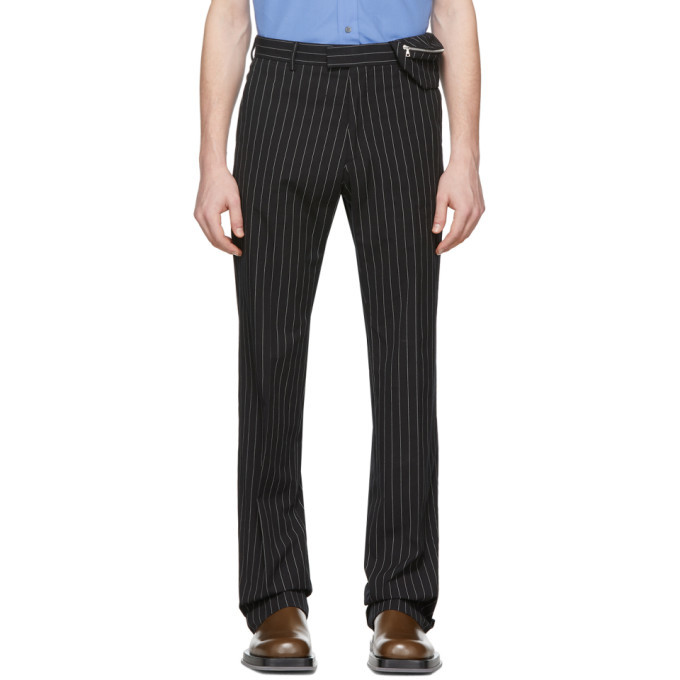 Photo: Dries Van Noten Black and White Prowse Trousers