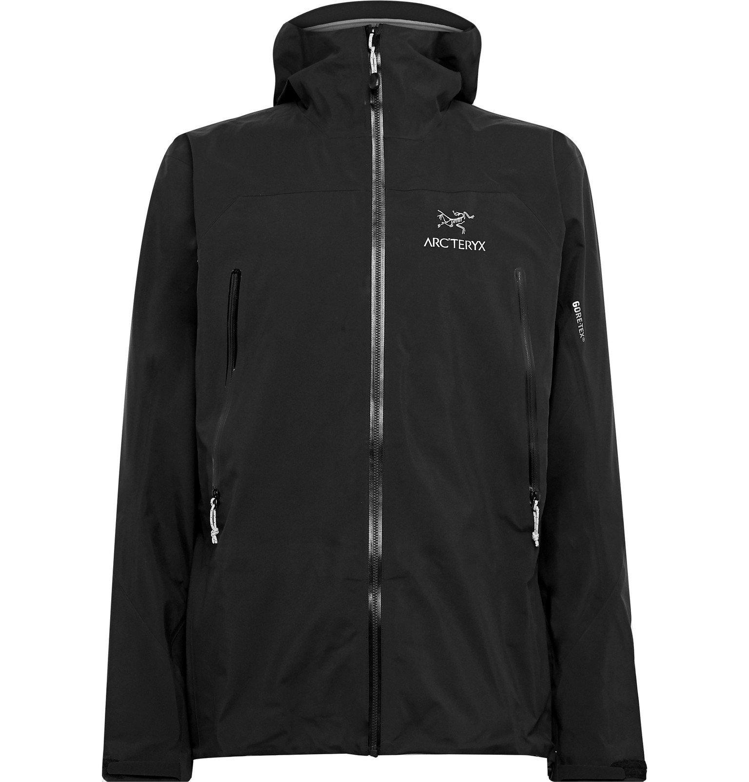 Photo: Arc'teryx - Zeta AR Slim-Fit GORE-TEX Hooded Jacket - Black