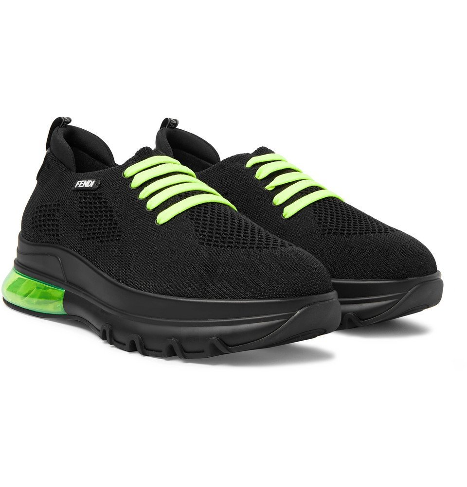 Photo: Fendi - Mesh Sneakers - Black