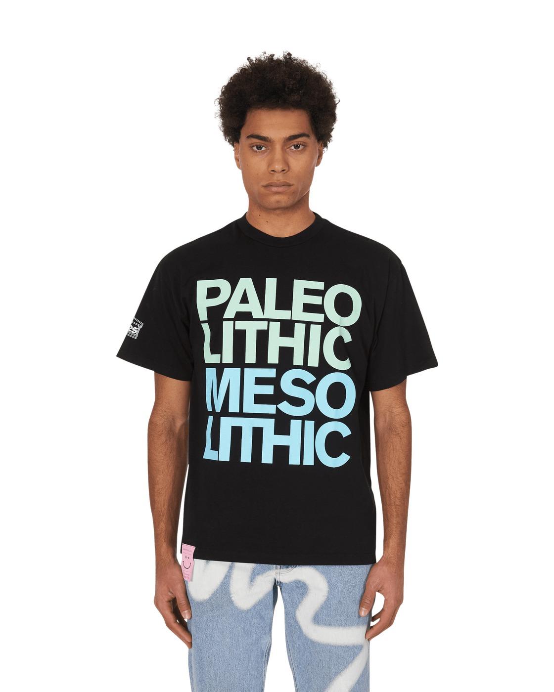 Aries Paleo Meso T Shirt Black