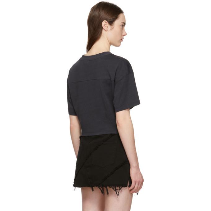 alexanderwang.t Black Vintage Plaited T-Shirt