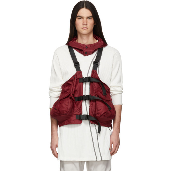 Photo: A-Cold-Wall* Red Gilet Backpack Vest