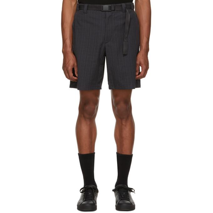 Photo: rag and bone Grey Check Drake Shorts