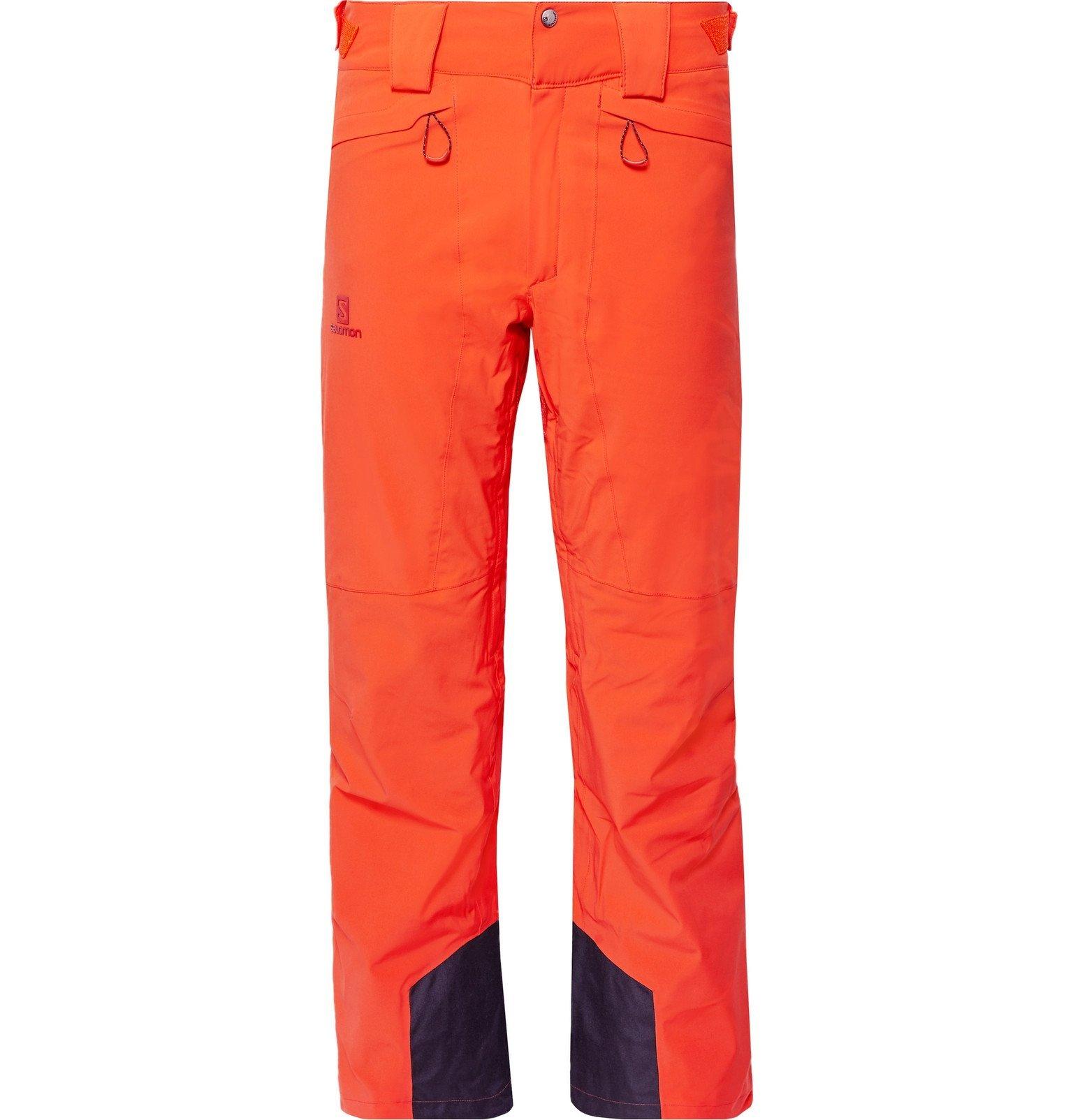Photo: Salomon - Icemania Ski Pants - Orange