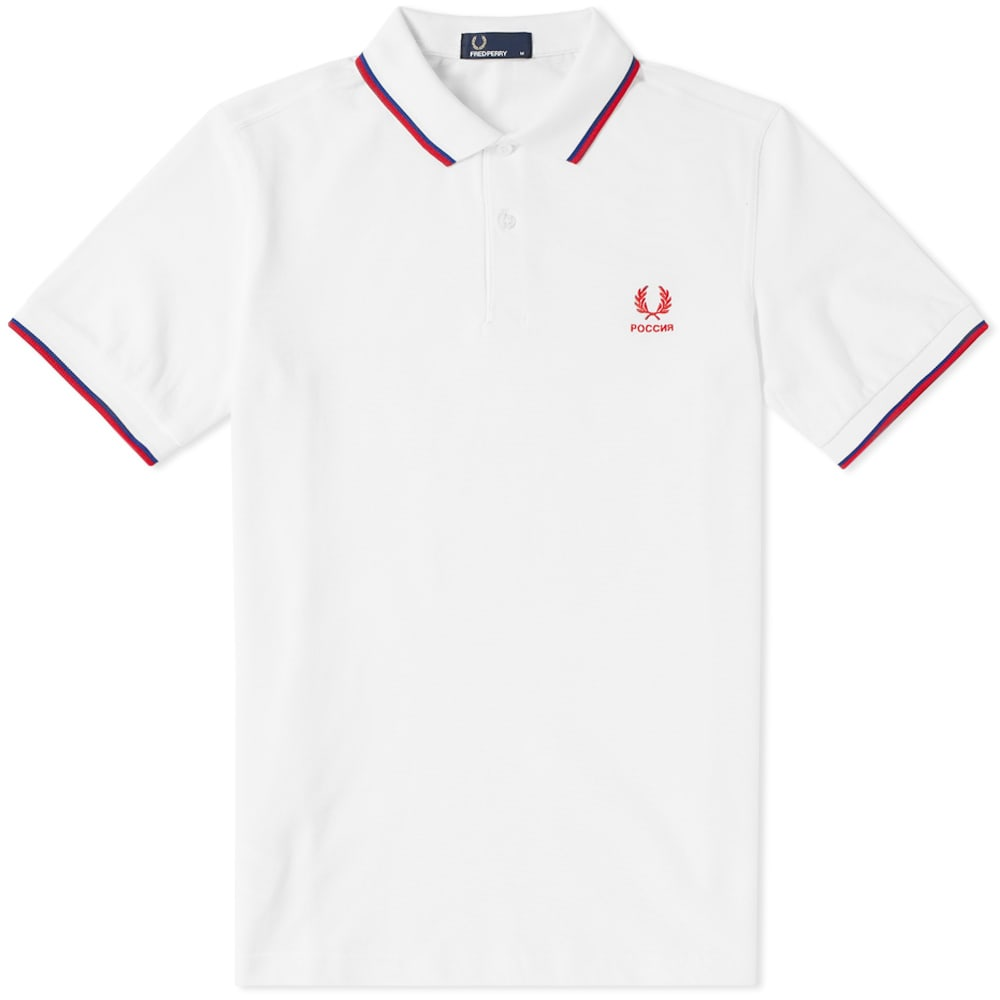 Photo: Fred Perry Russia Country Polo Shirt