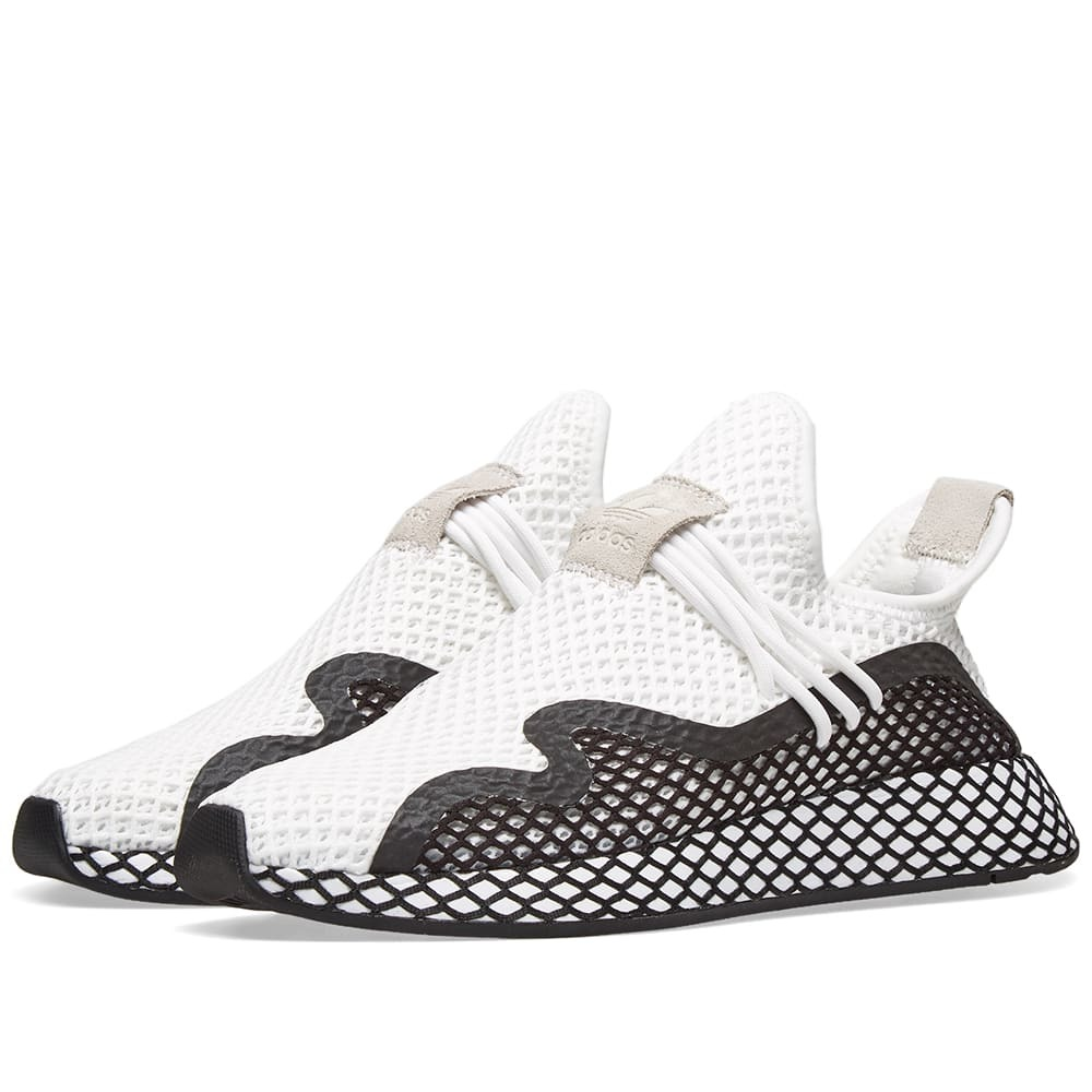 Photo: Adidas Deerupt S Runner White & Core Black