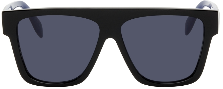 Photo: Alexander McQueen Shiny Square Sunglasses