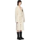 Raf Simons Off-White Raglan Labo Coat