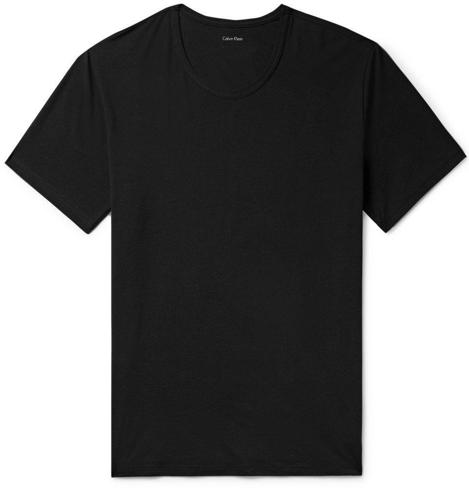 Photo: Calvin Klein Underwear - Stretch-Cotton Jersey T-Shirt - Black