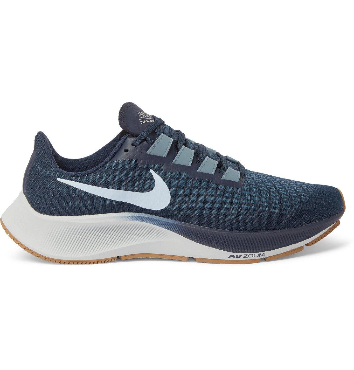 Nike Running - Air Zoom Pegasus 37 Mesh Running Sneakers - Blue