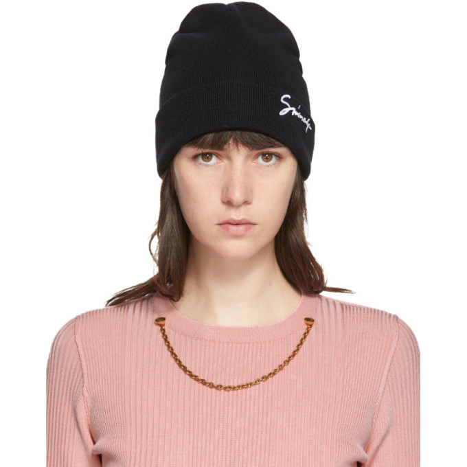 Photo: Givenchy Black Wool Signature Beanie