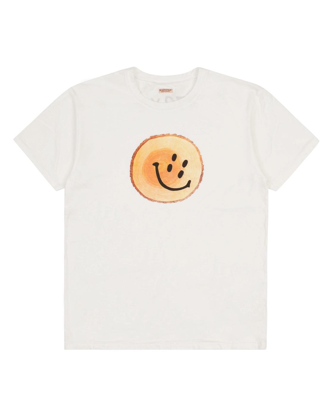 Photo: Kapital Smile T Shirt White