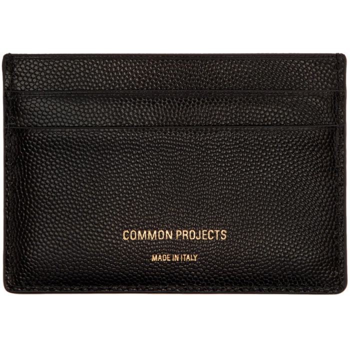 Photo: Common Projects Black Multi Card Holder