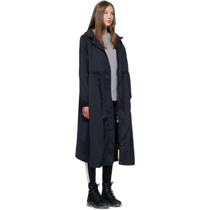 Moncler Black Down Lin Coat