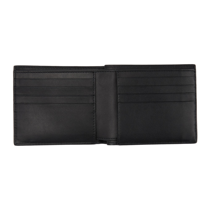Bottega Veneta SSENSE Exclusive Black Nappa Leather Bifold Wallet