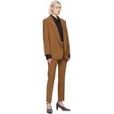 Max Mara Tan Wool Crepe Jacket