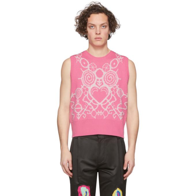 Photo: Charles Jeffrey Loverboy Pink Pict Vest