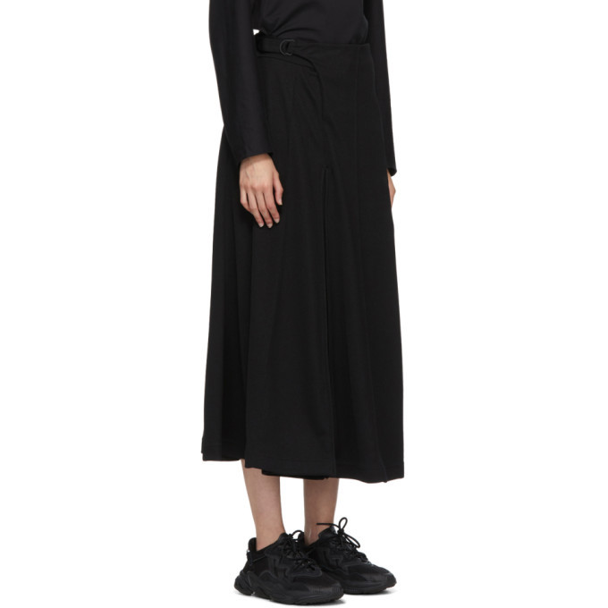 Y-3 Black Classic Tailored Track Skirt