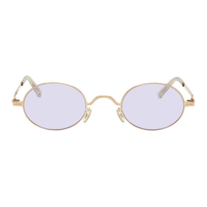 Photo: Maison Margiela Gold Mykita Edition MMCRAFT005 Sunglasses