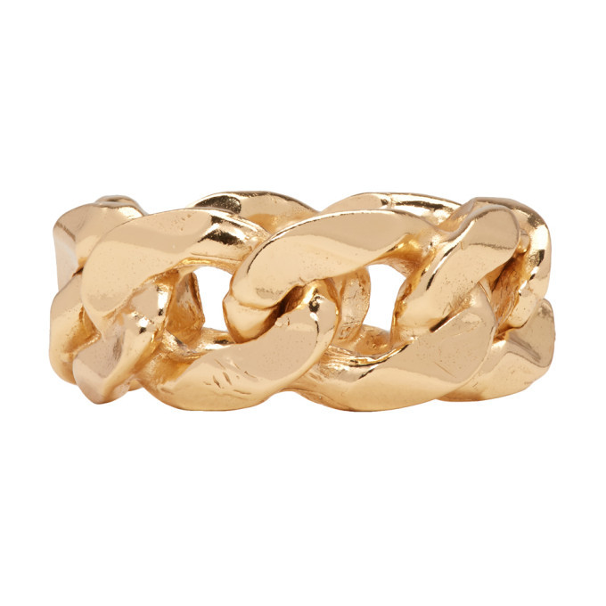 Photo: Emanuele Bicocchi Gold Chain Ring