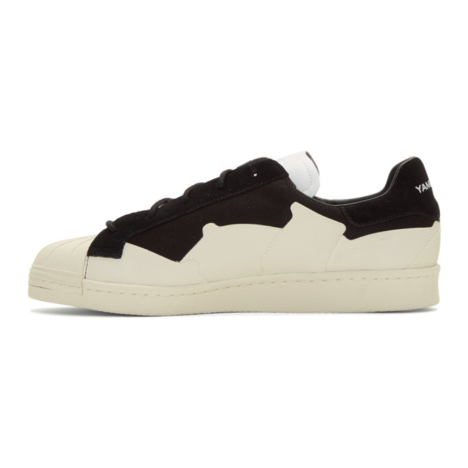 Y-3 Black and White Super Takusan Sneakers