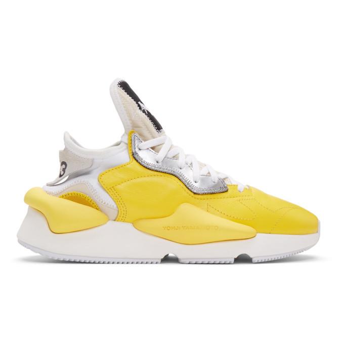 Photo: Y-3 Yellow Kaiwa Sneakers