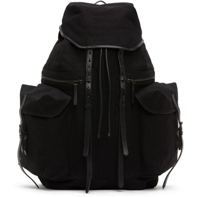 Photo: Dries Van Noten Black Canvas Backpack