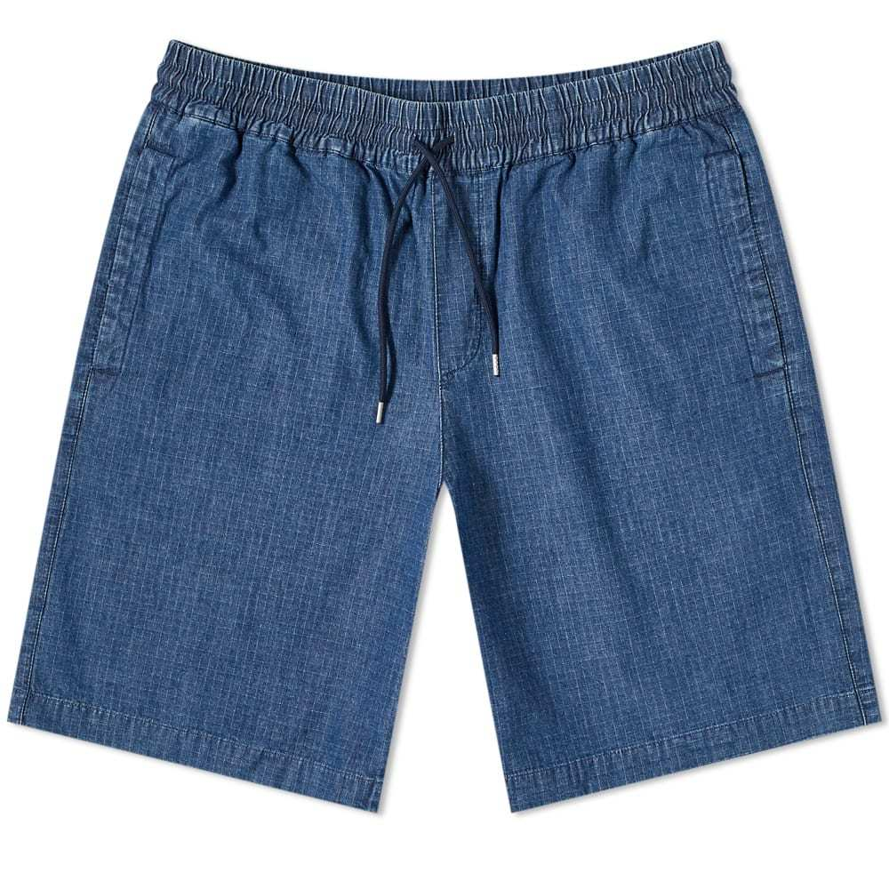 Photo: A.P.C. Kaplan Denim Short