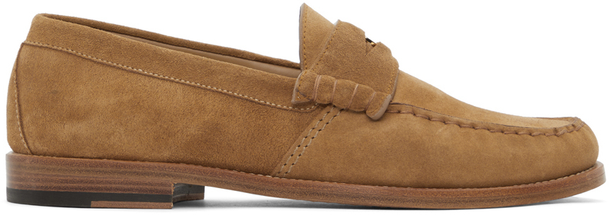 Photo: Rhude Tan Suede Penny Loafers