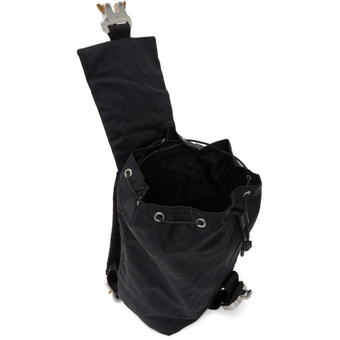 1017 ALYX 9SM Black Tank Backpack