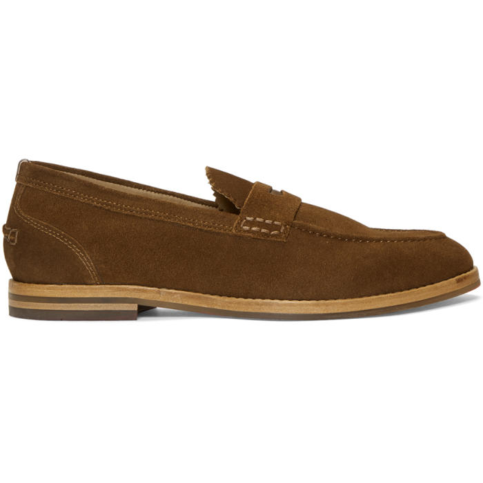 Photo: H by Hudson Tan Suede Romney Loafers